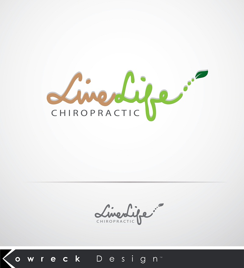 Logo Design by kowreck - Entry No. 100 in the Logo Design Contest Captivating Logo Design for LiveLife Chiropractic.
