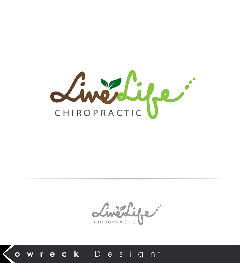 Logo Design by kowreck - Entry No. 102 in the Logo Design Contest Captivating Logo Design for LiveLife Chiropractic.
