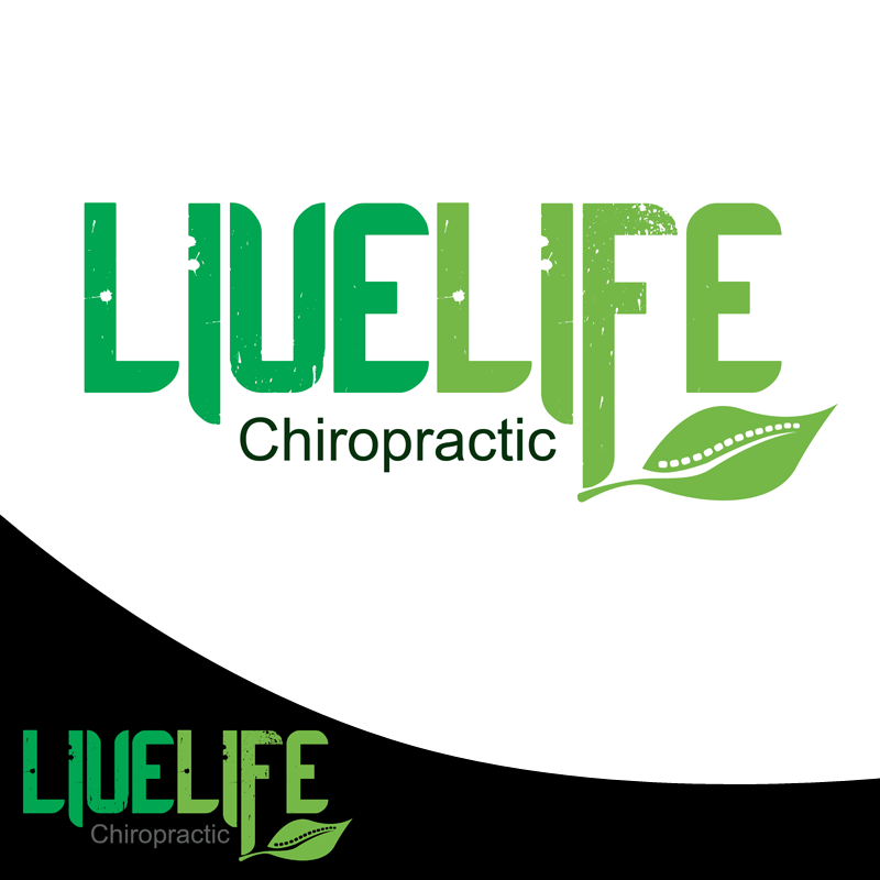 Logo Design by Private User - Entry No. 105 in the Logo Design Contest Captivating Logo Design for LiveLife Chiropractic.