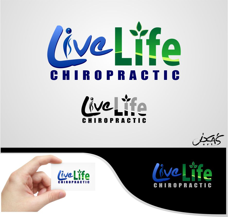 Logo Design by joca - Entry No. 106 in the Logo Design Contest Captivating Logo Design for LiveLife Chiropractic.