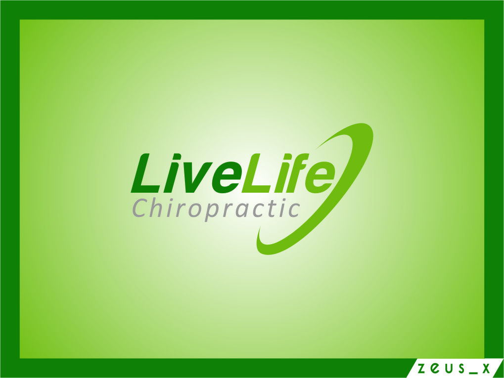 Logo Design by Ngepet_art - Entry No. 107 in the Logo Design Contest Captivating Logo Design for LiveLife Chiropractic.