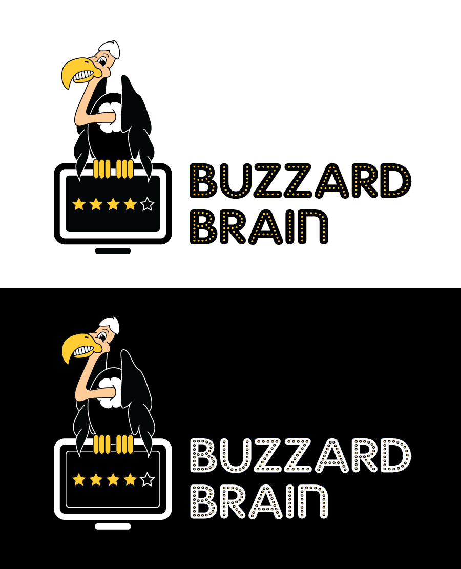 Logo Design by Christina Evans - Entry No. 35 in the Logo Design Contest Buzzard Brain Logo Design.