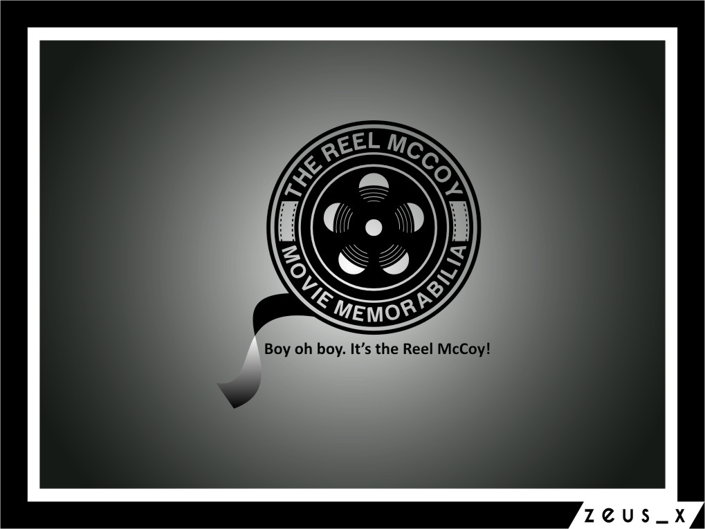 Logo Design by RasYa Muhammad Athaya - Entry No. 51 in the Logo Design Contest Unique Logo Design Wanted for The Reel McCoy Movie Memorabilia.