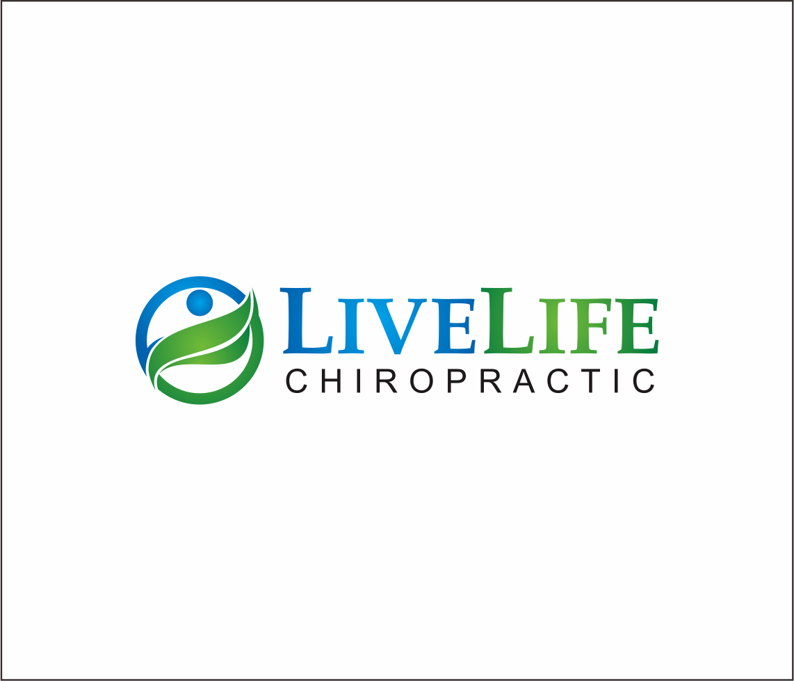 Logo Design by Armada Jamaluddin - Entry No. 109 in the Logo Design Contest Captivating Logo Design for LiveLife Chiropractic.