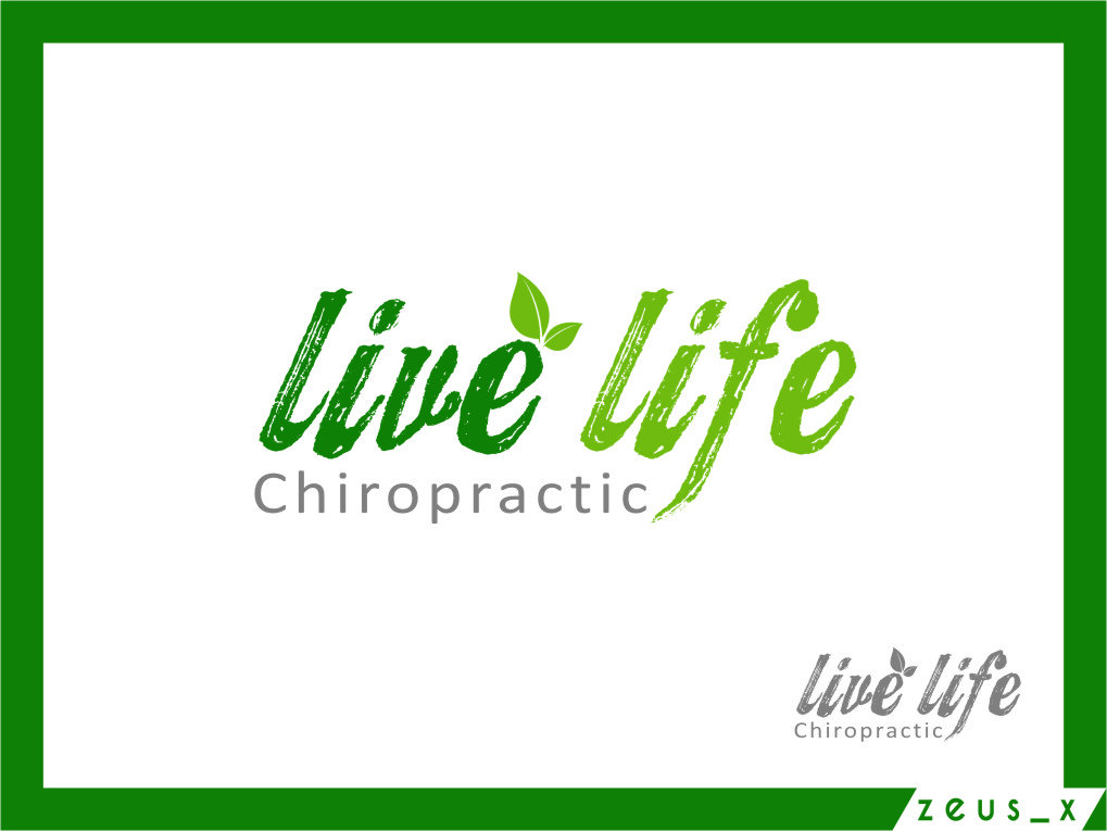 Logo Design by RasYa Muhammad Athaya - Entry No. 111 in the Logo Design Contest Captivating Logo Design for LiveLife Chiropractic.