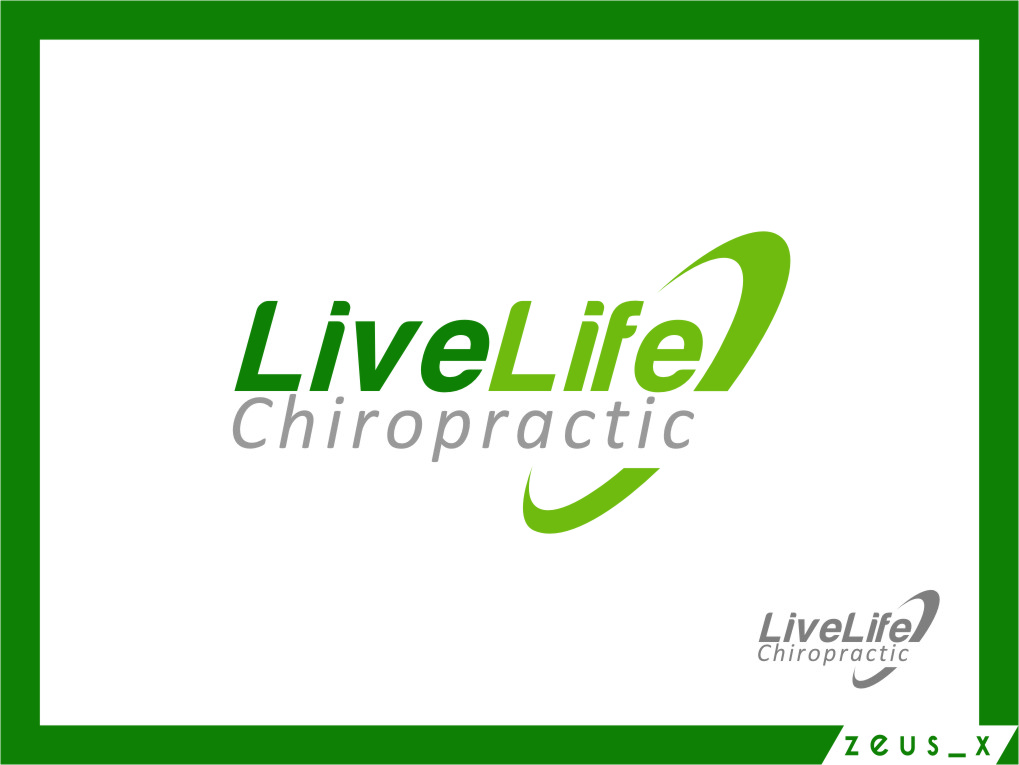 Logo Design by Ngepet_art - Entry No. 113 in the Logo Design Contest Captivating Logo Design for LiveLife Chiropractic.