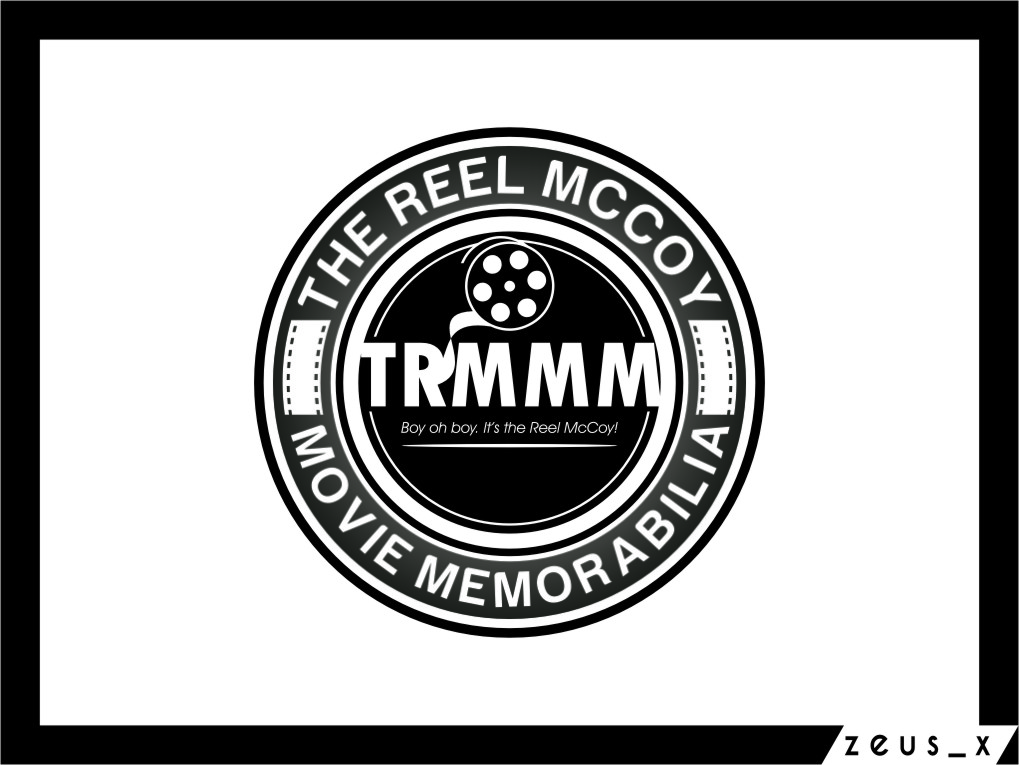 Logo Design by Ngepet_art - Entry No. 52 in the Logo Design Contest Unique Logo Design Wanted for The Reel McCoy Movie Memorabilia.