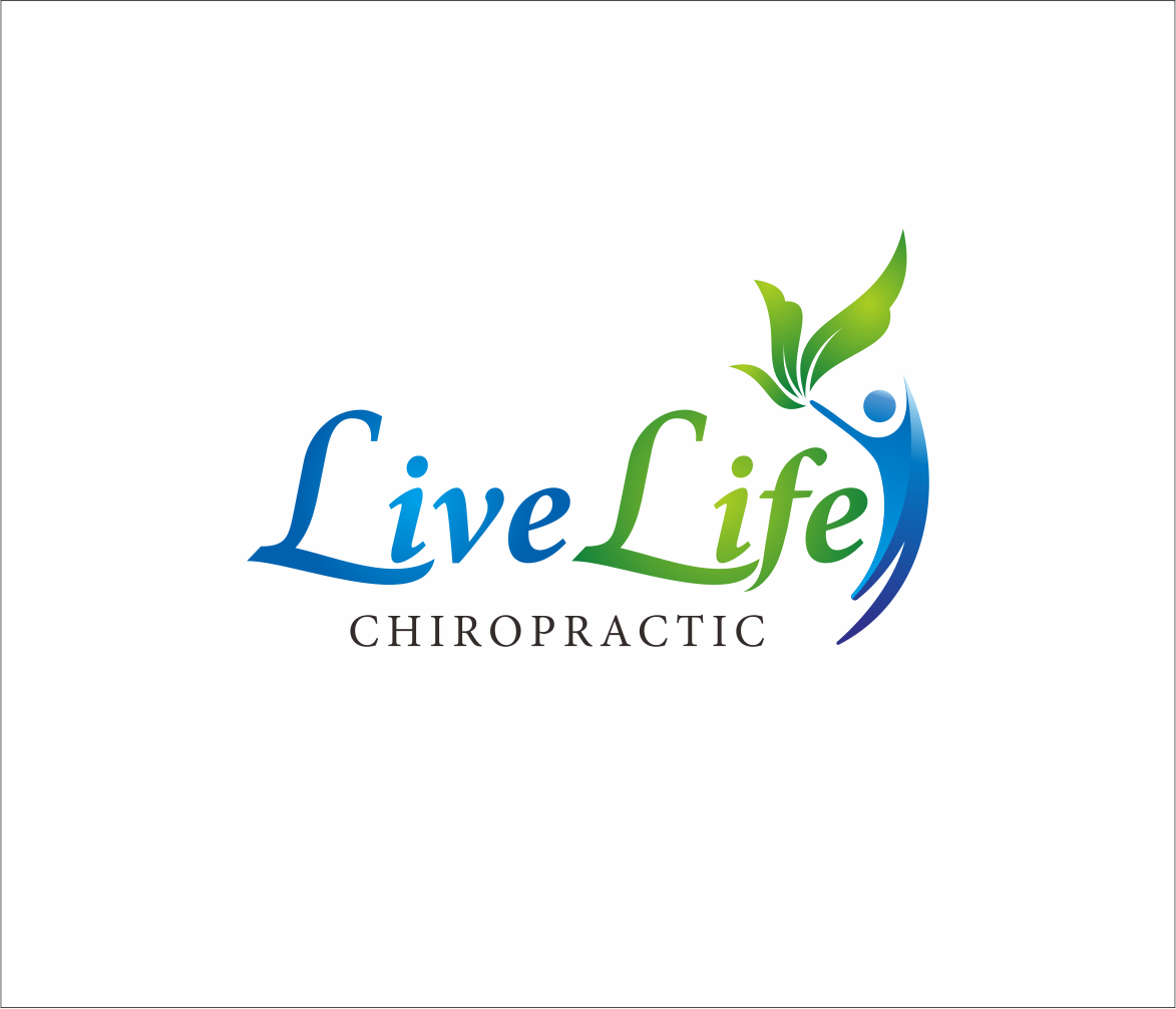 Logo Design by Armada Jamaluddin - Entry No. 119 in the Logo Design Contest Captivating Logo Design for LiveLife Chiropractic.