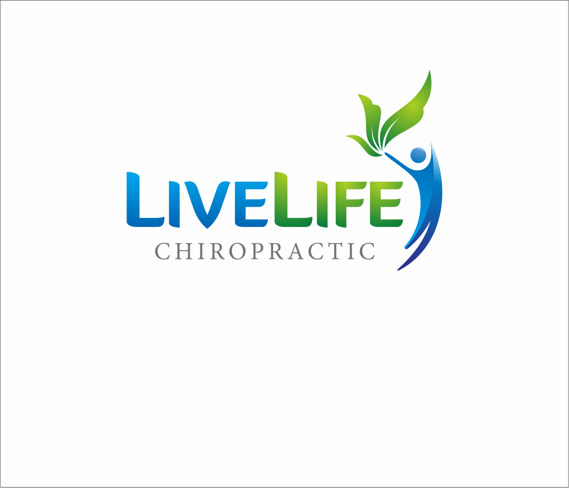 Logo Design by Armada Jamaluddin - Entry No. 121 in the Logo Design Contest Captivating Logo Design for LiveLife Chiropractic.
