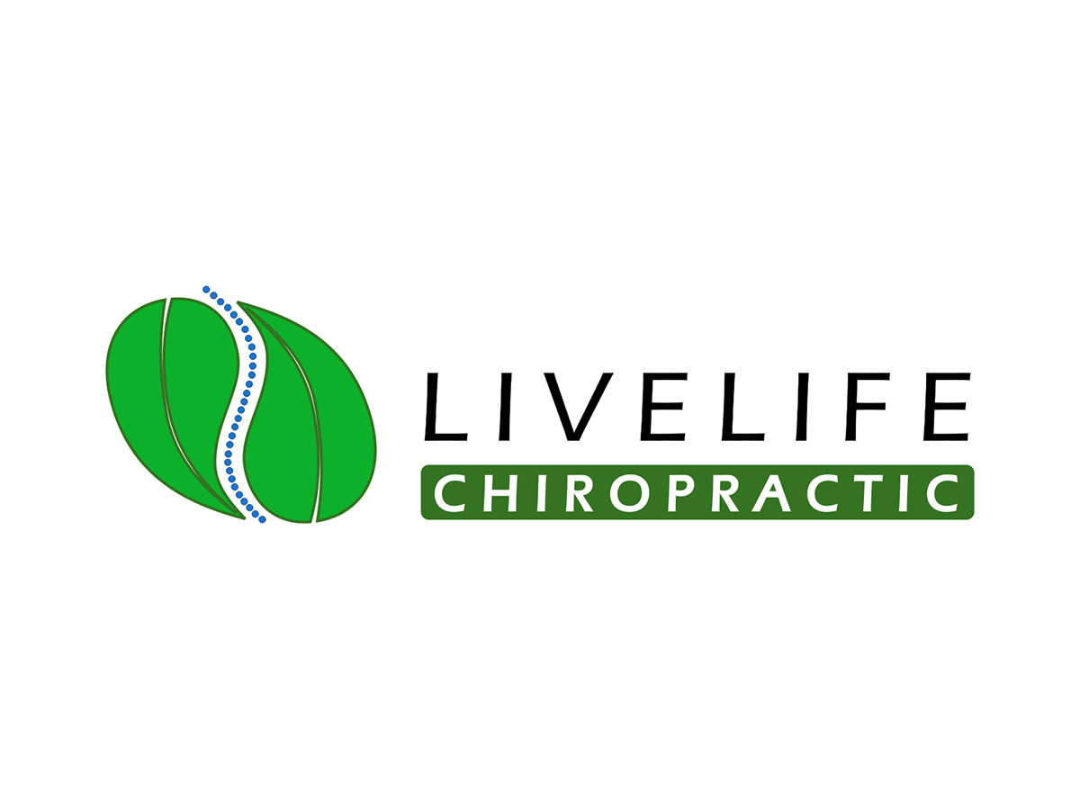 Logo Design by Prithinath - Entry No. 126 in the Logo Design Contest Captivating Logo Design for LiveLife Chiropractic.