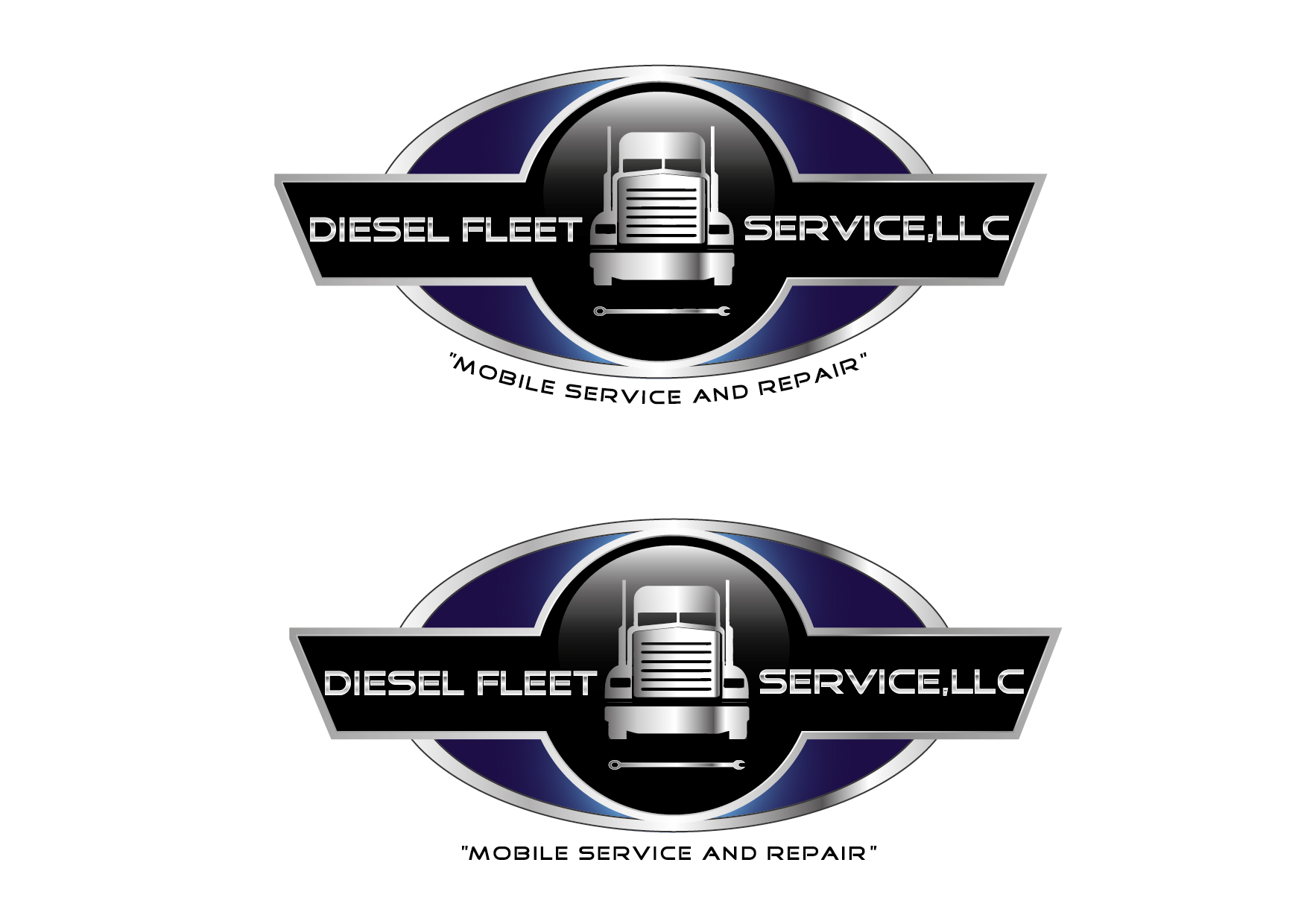 Logo Design by VENTSISLAV KOVACHEV - Entry No. 62 in the Logo Design Contest Artistic Logo Design for Diesel Fleet Service, LLC.