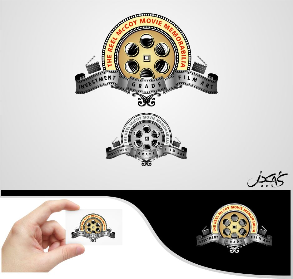 Logo Design by joca - Entry No. 53 in the Logo Design Contest Unique Logo Design Wanted for The Reel McCoy Movie Memorabilia.