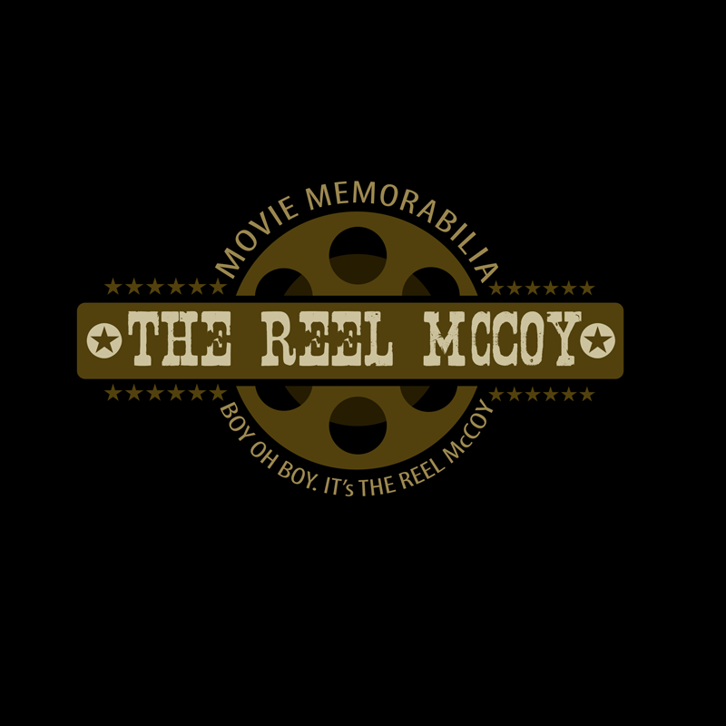Logo Design by Private User - Entry No. 54 in the Logo Design Contest Unique Logo Design Wanted for The Reel McCoy Movie Memorabilia.
