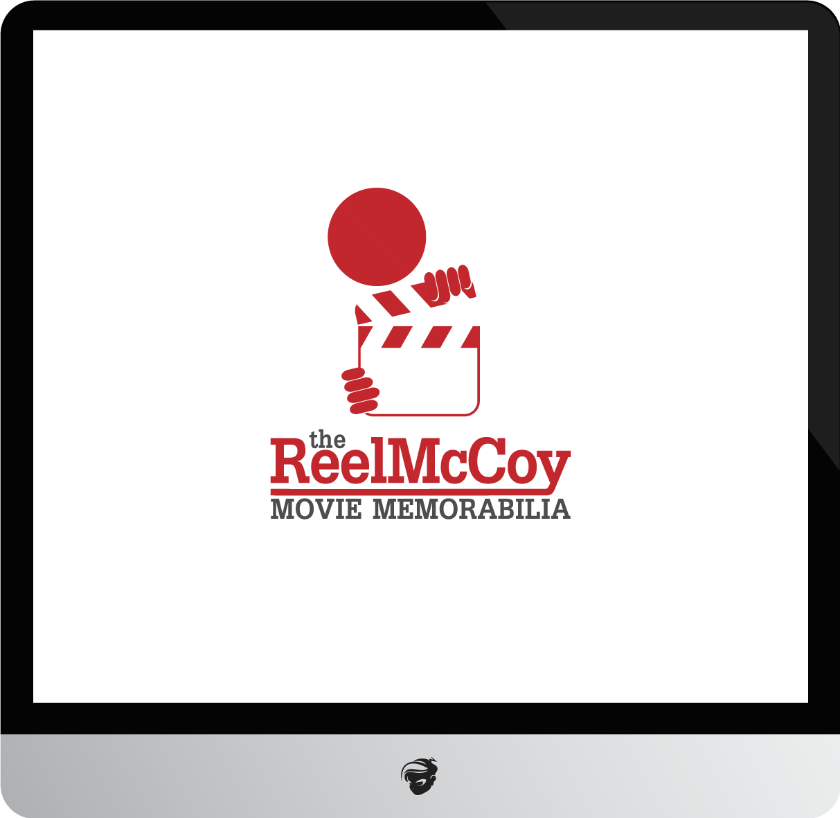 Logo Design by zesthar - Entry No. 55 in the Logo Design Contest Unique Logo Design Wanted for The Reel McCoy Movie Memorabilia.