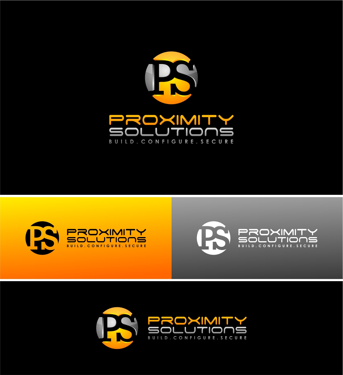 Logo Design by haidu - Entry No. 34 in the Logo Design Contest New Logo Design for Proximity Solutions.
