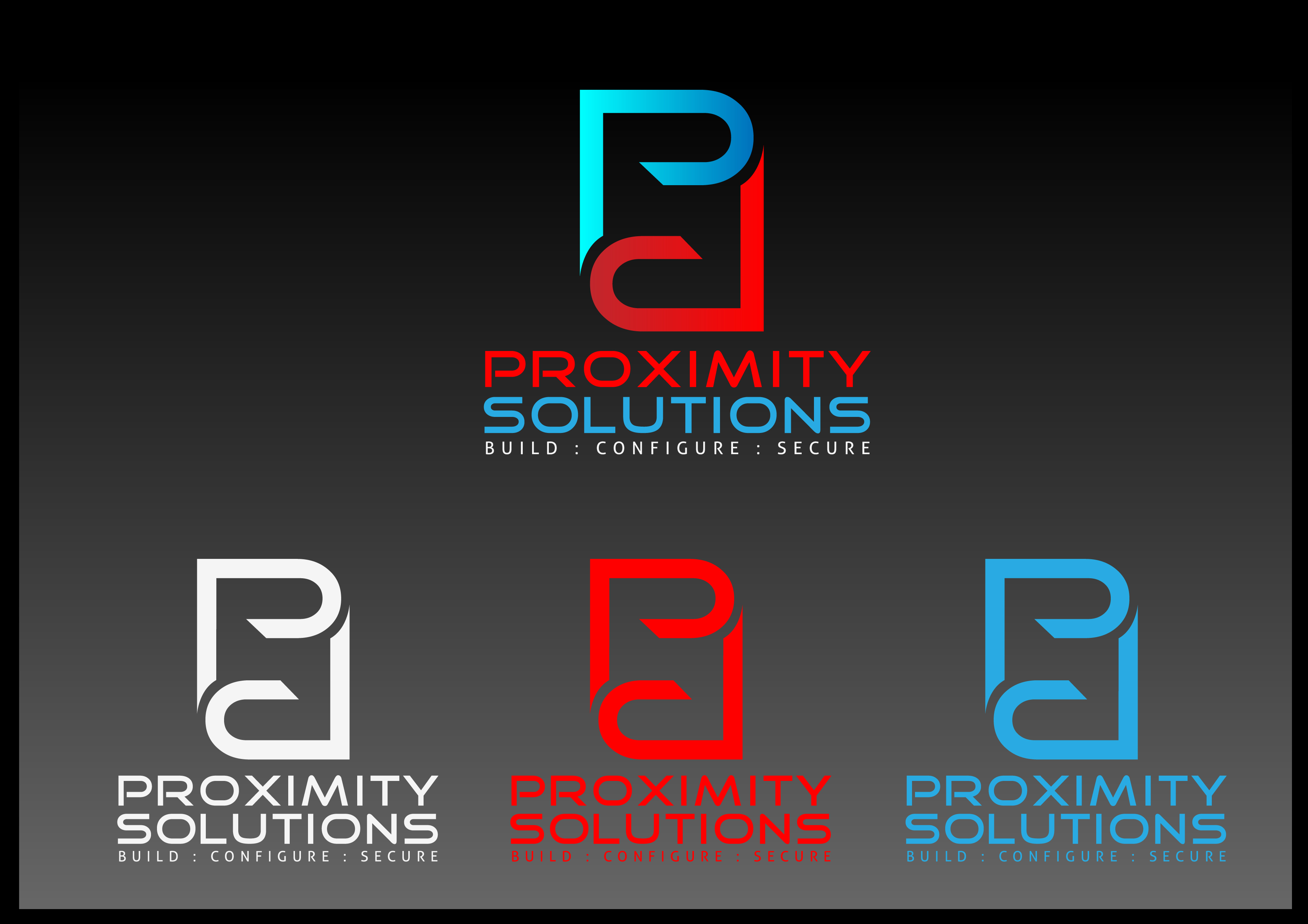 Logo Design by 3draw - Entry No. 38 in the Logo Design Contest New Logo Design for Proximity Solutions.