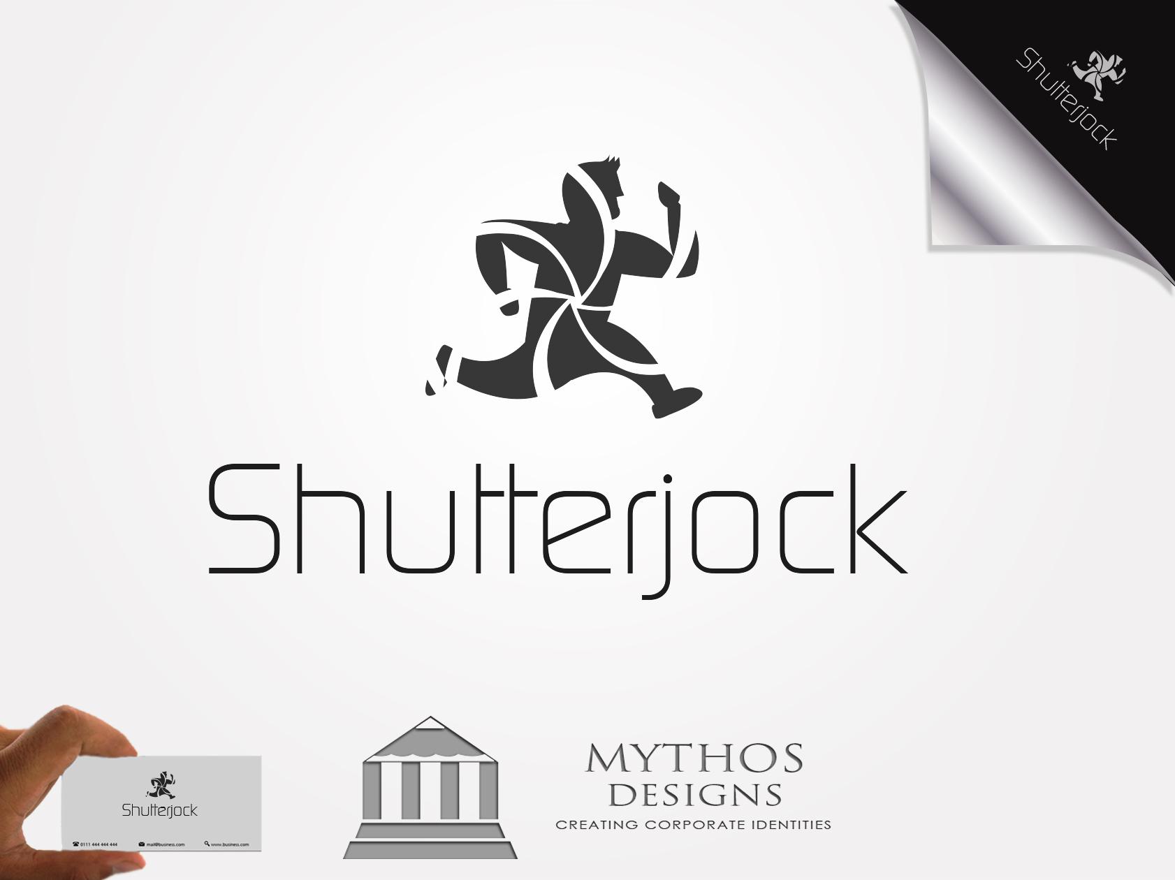 Logo Design by Mythos Designs - Entry No. 51 in the Logo Design Contest Unique Logo Design Wanted for Shutterjock LLC.