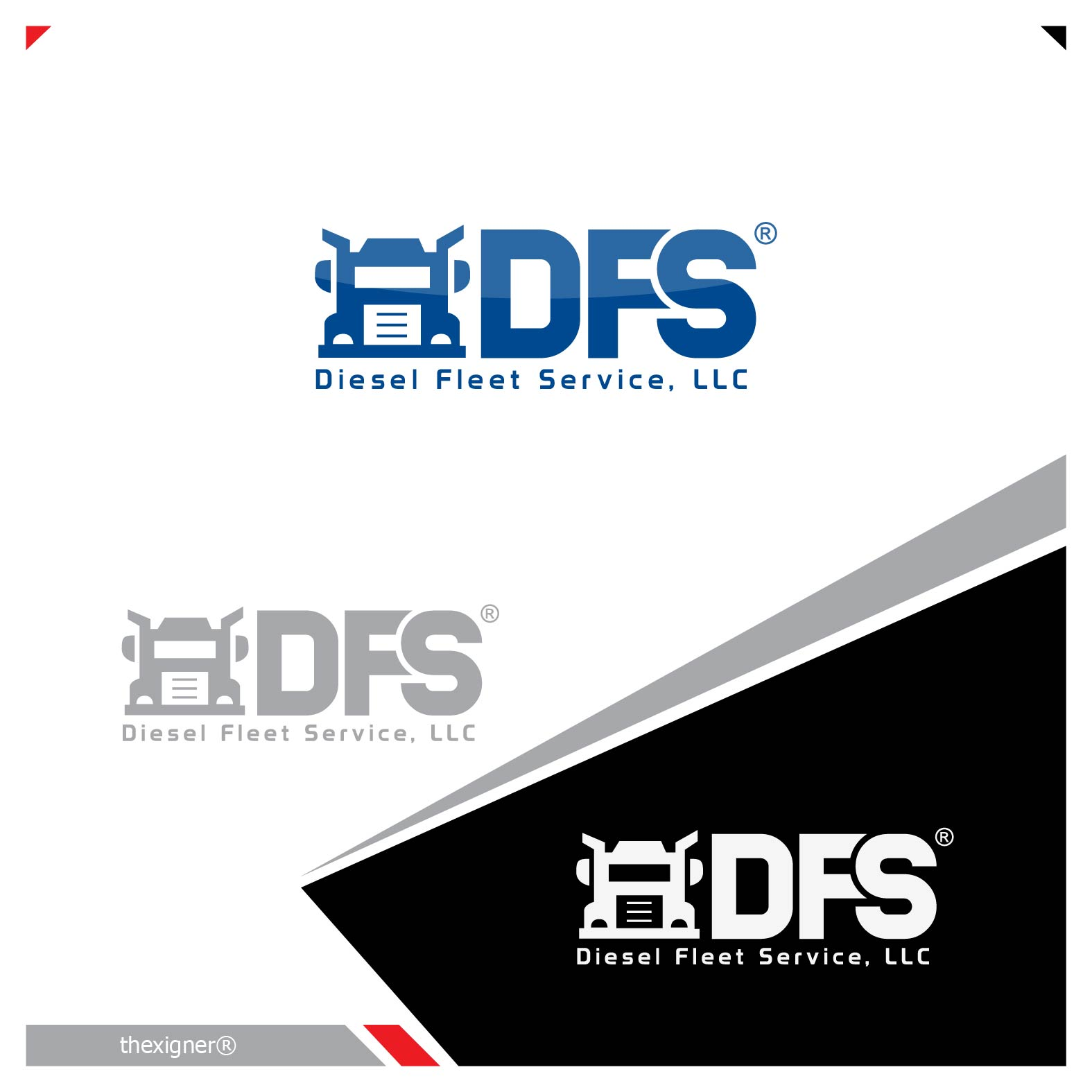 Logo Design by lagalag - Entry No. 71 in the Logo Design Contest Artistic Logo Design for Diesel Fleet Service, LLC.