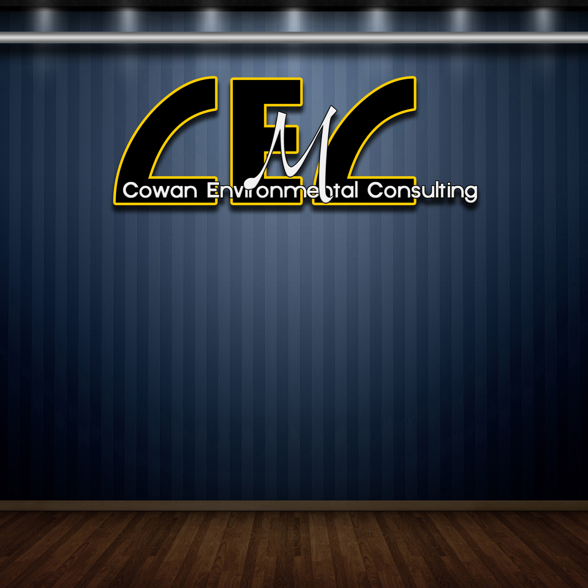 Logo Design by MITUCA ANDREI - Entry No. 11 in the Logo Design Contest Fun Logo Design for Cowan Environmental Consulting.