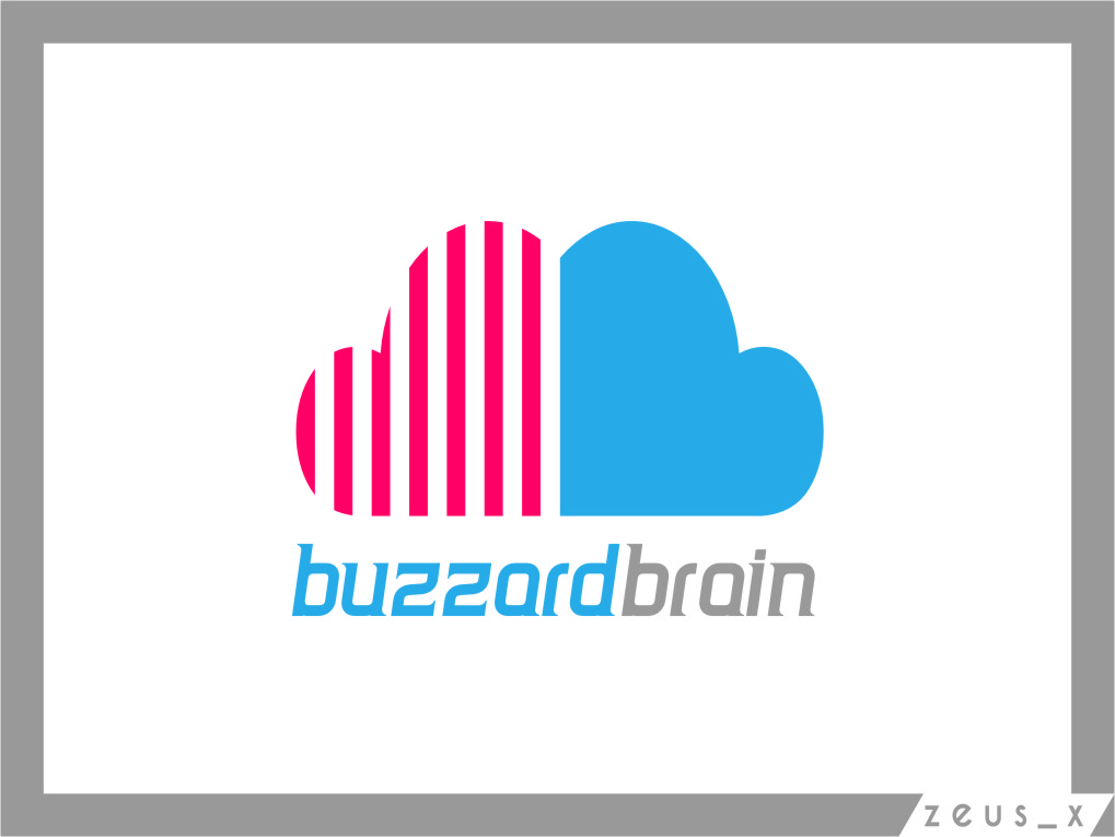 Logo Design by RasYa Muhammad Athaya - Entry No. 43 in the Logo Design Contest Buzzard Brain Logo Design.