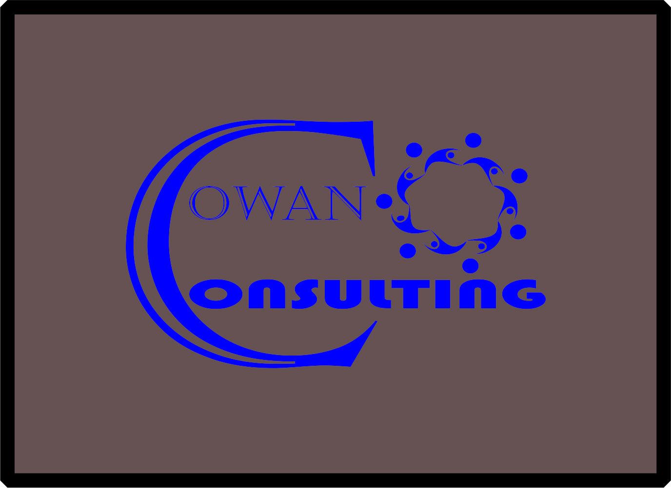 Logo Design by Teguh Hanuraga - Entry No. 17 in the Logo Design Contest Fun Logo Design for Cowan Environmental Consulting.