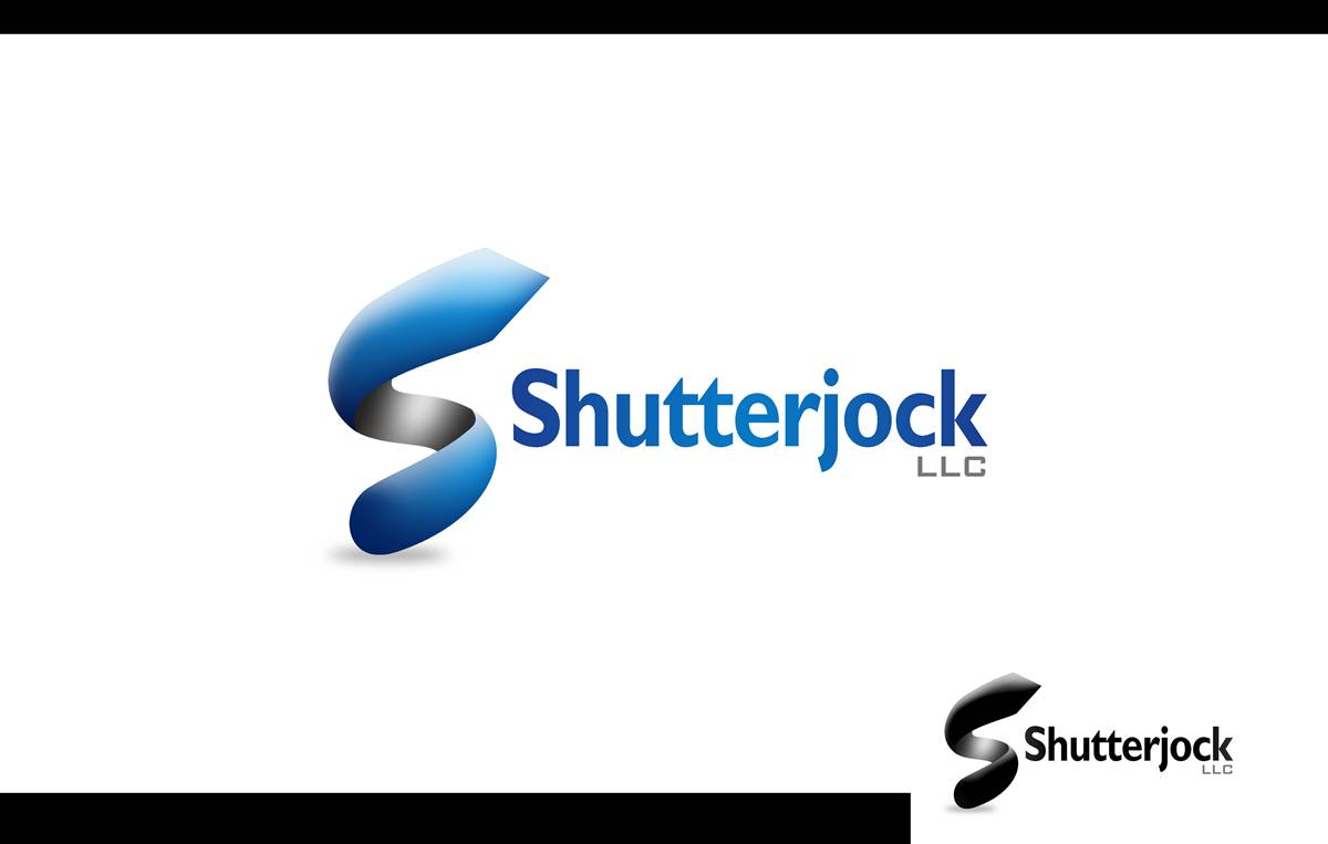 Logo Design by Respati Himawan - Entry No. 62 in the Logo Design Contest Unique Logo Design Wanted for Shutterjock LLC.