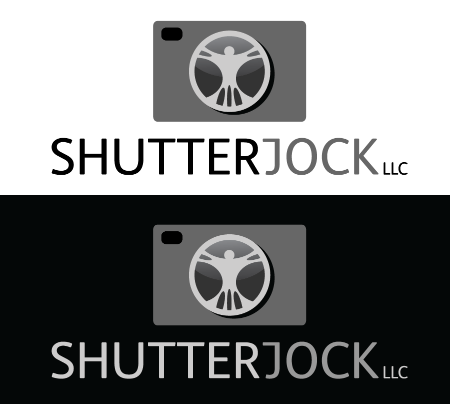 Logo Design by Christina Evans - Entry No. 64 in the Logo Design Contest Unique Logo Design Wanted for Shutterjock LLC.