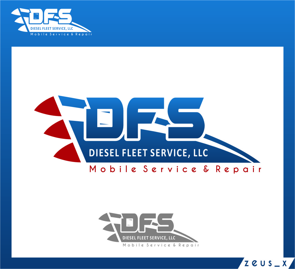 Logo Design by RasYa Muhammad Athaya - Entry No. 79 in the Logo Design Contest Artistic Logo Design for Diesel Fleet Service, LLC.