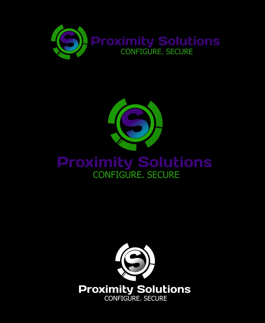 Logo Design by Private User - Entry No. 46 in the Logo Design Contest New Logo Design for Proximity Solutions.