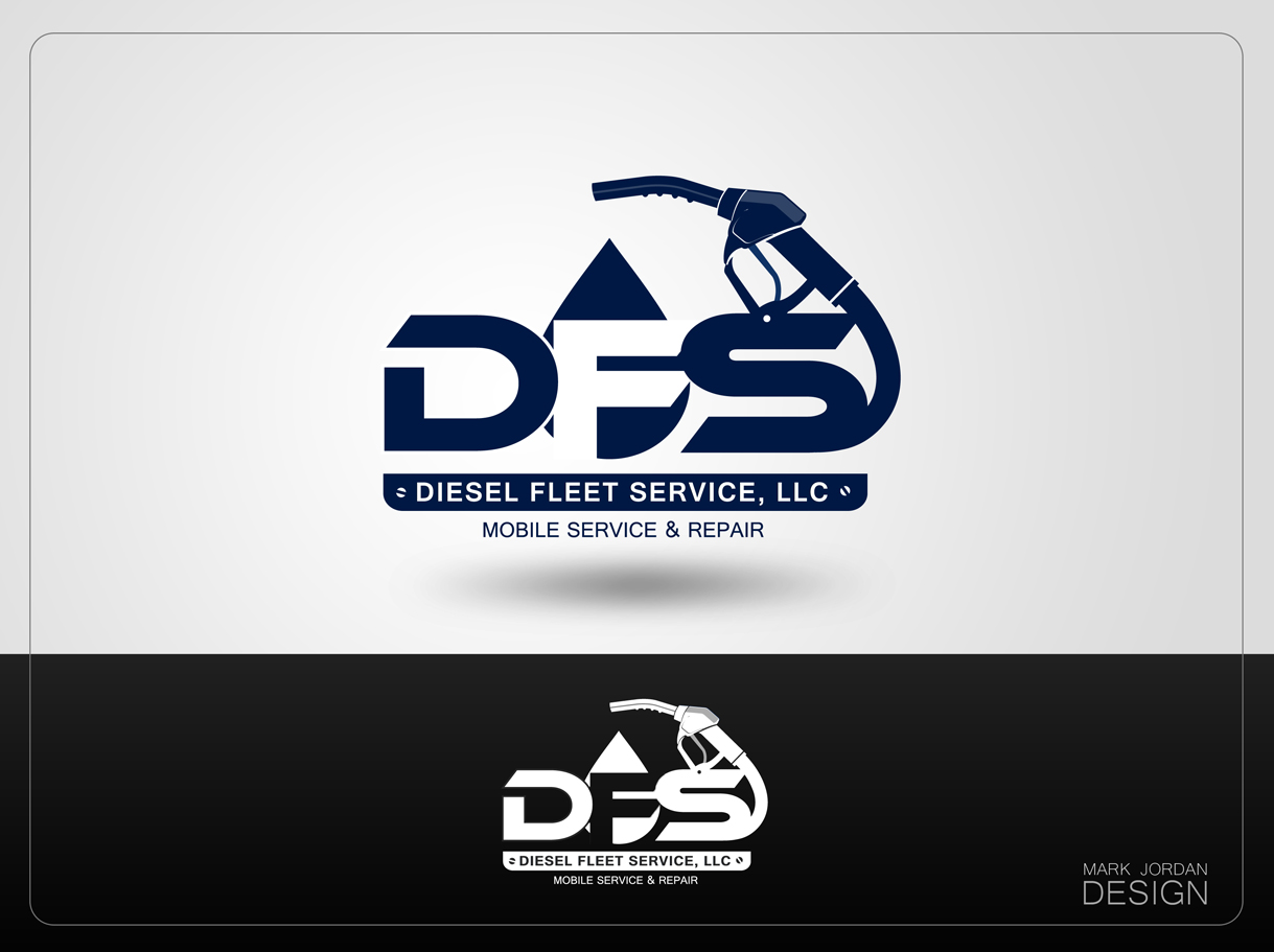 Logo Design by Mark Anthony Moreto Jordan - Entry No. 81 in the Logo Design Contest Artistic Logo Design for Diesel Fleet Service, LLC.