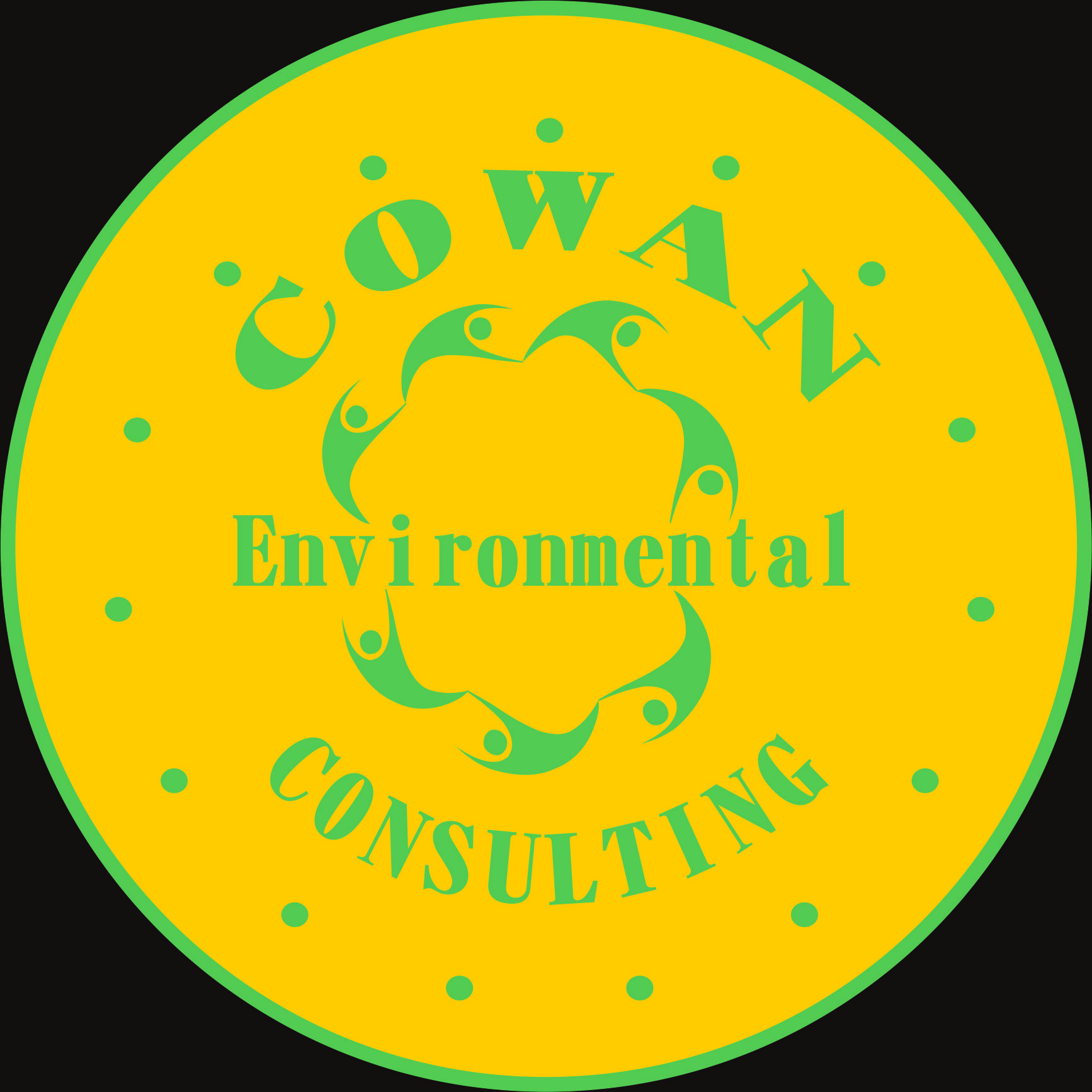 Logo Design by Teguh Hanuraga - Entry No. 19 in the Logo Design Contest Fun Logo Design for Cowan Environmental Consulting.