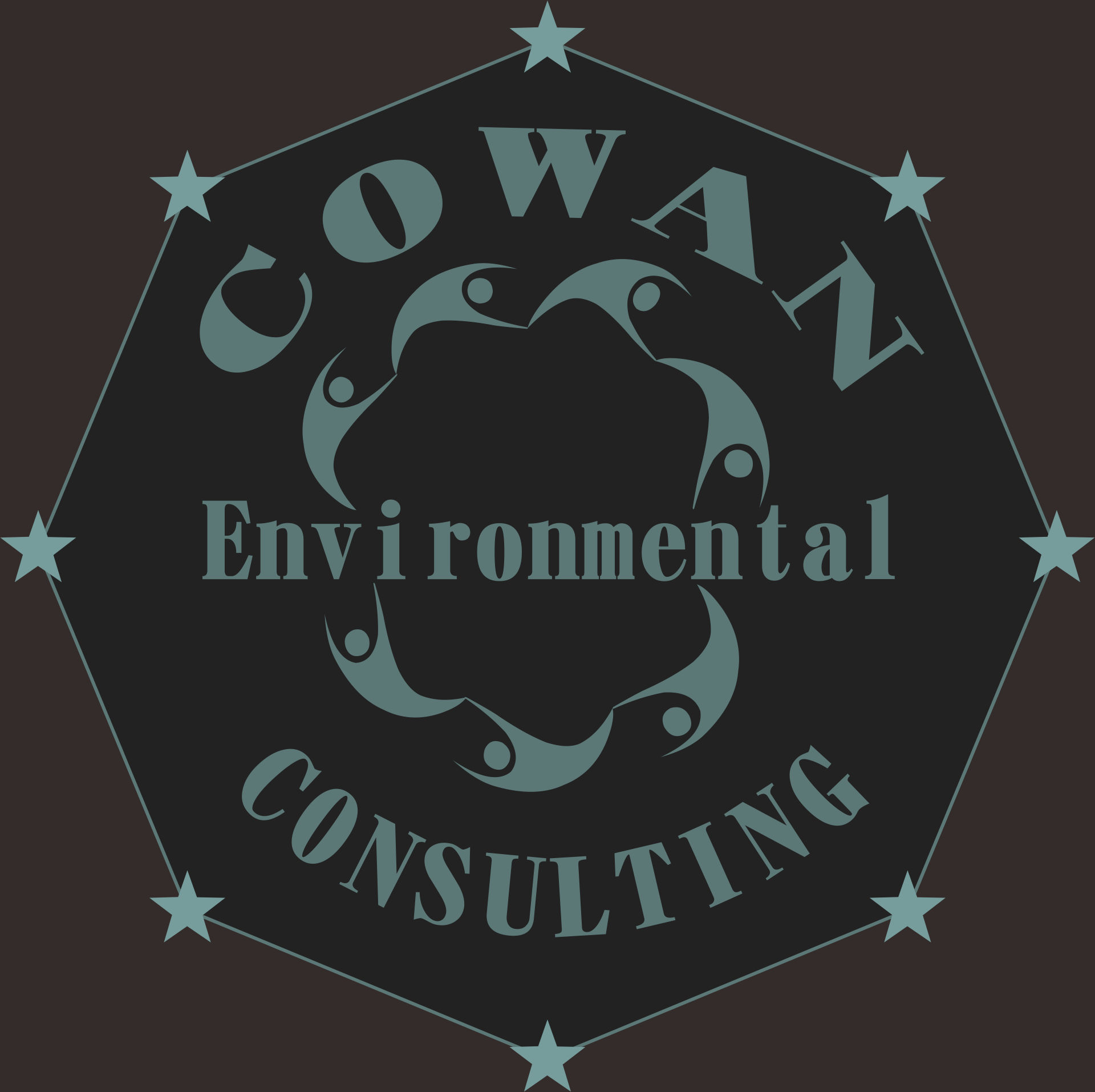 Logo Design by Teguh Hanuraga - Entry No. 20 in the Logo Design Contest Fun Logo Design for Cowan Environmental Consulting.