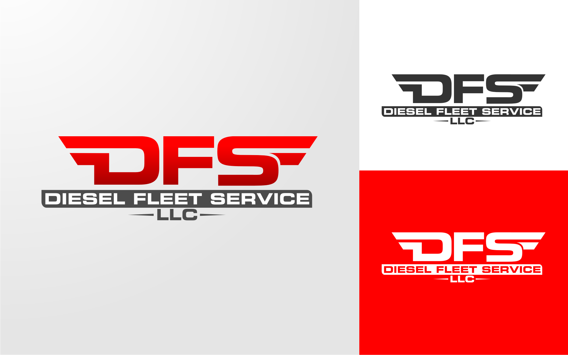 Logo Design by Tille Famz - Entry No. 83 in the Logo Design Contest Artistic Logo Design for Diesel Fleet Service, LLC.