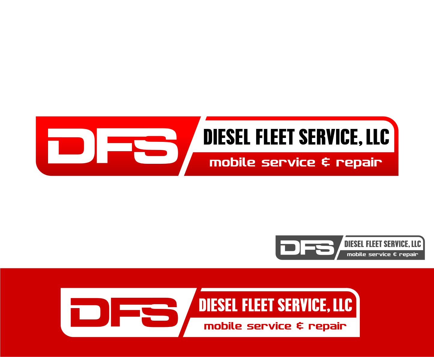 Logo Design by Tille Famz - Entry No. 84 in the Logo Design Contest Artistic Logo Design for Diesel Fleet Service, LLC.