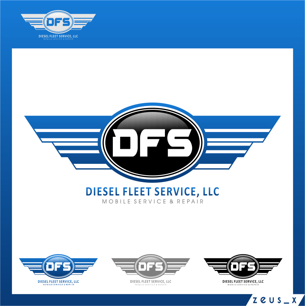 Logo Design by RoSyid Rono-Rene On Java - Entry No. 89 in the Logo Design Contest Artistic Logo Design for Diesel Fleet Service, LLC.