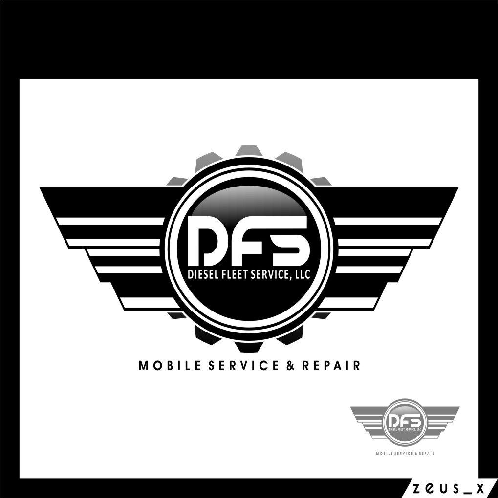 Logo Design by RasYa Muhammad Athaya - Entry No. 94 in the Logo Design Contest Artistic Logo Design for Diesel Fleet Service, LLC.
