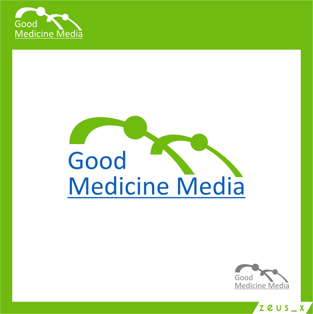 Logo Design by RasYa Muhammad Athaya - Entry No. 1 in the Logo Design Contest Good Medicine Media Logo Design.