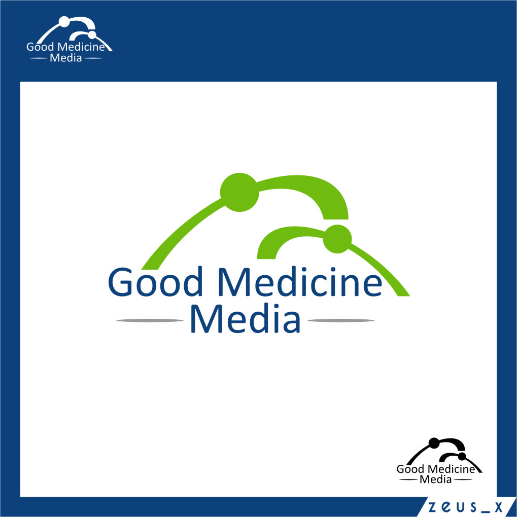Logo Design by RoSyid Rono-Rene On Java - Entry No. 2 in the Logo Design Contest Good Medicine Media Logo Design.