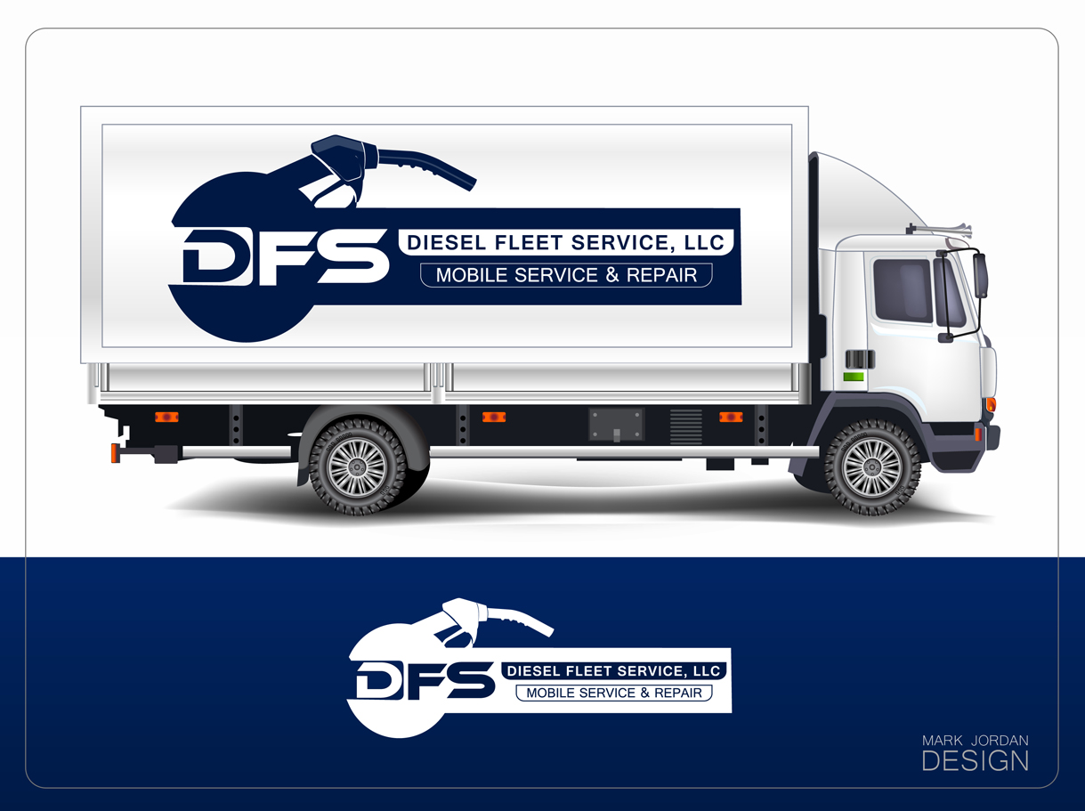 Logo Design by Mark Anthony Moreto Jordan - Entry No. 97 in the Logo Design Contest Artistic Logo Design for Diesel Fleet Service, LLC.