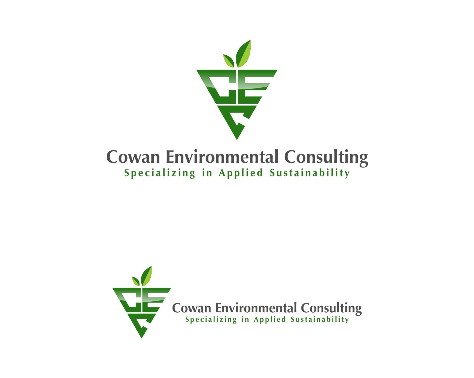 Logo Design by haidu - Entry No. 22 in the Logo Design Contest Fun Logo Design for Cowan Environmental Consulting.