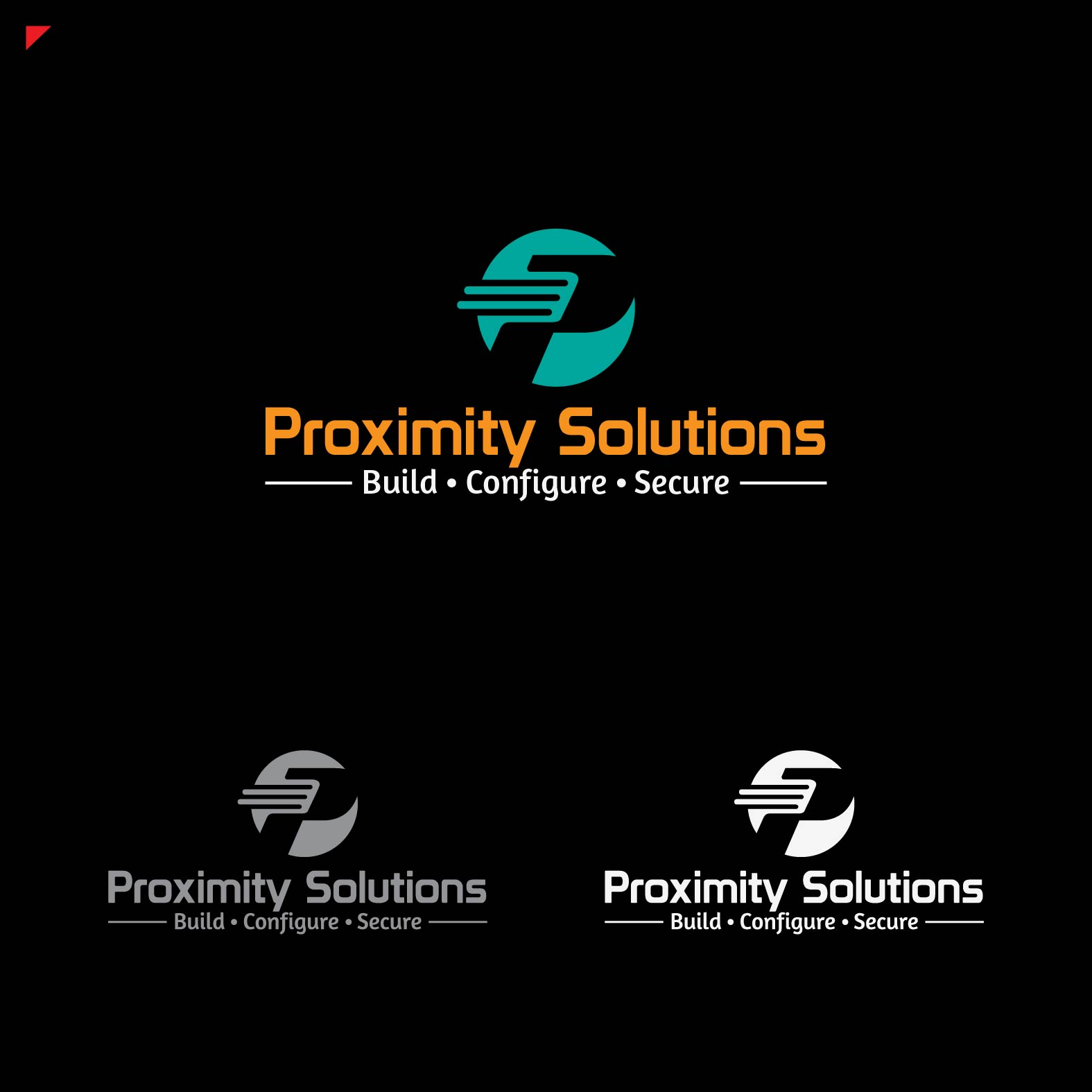 Logo Design by lagalag - Entry No. 51 in the Logo Design Contest New Logo Design for Proximity Solutions.