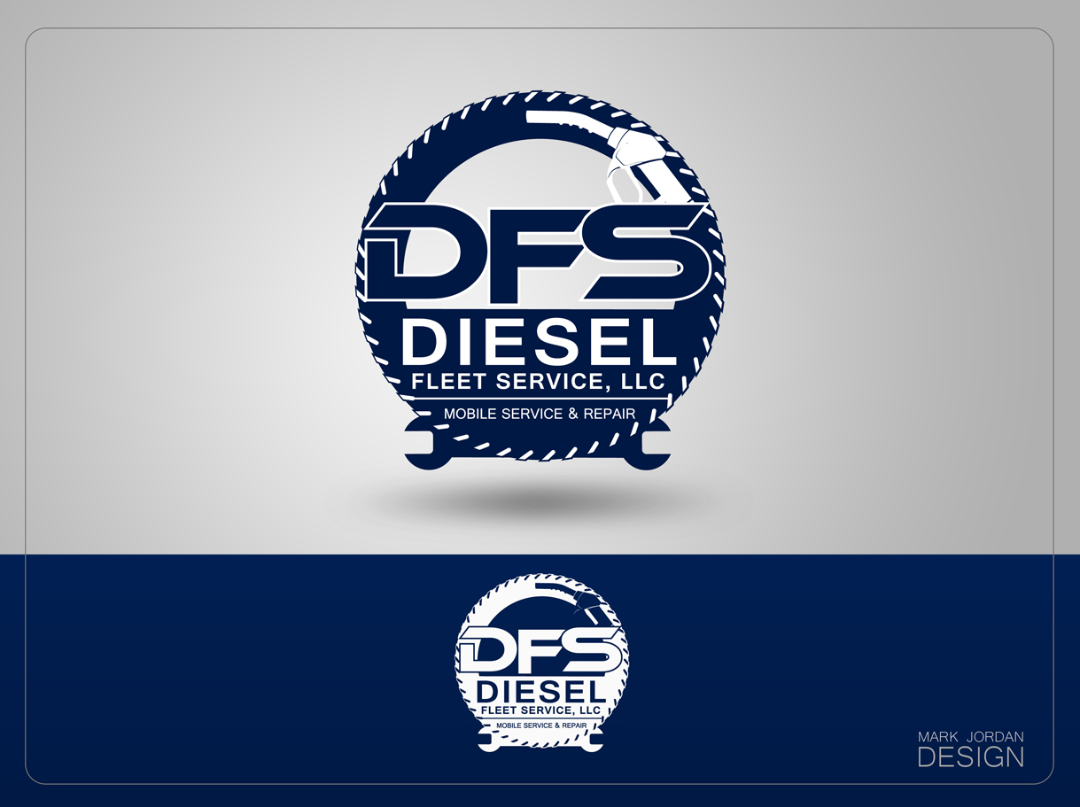 Logo Design by Mark Anthony Moreto Jordan - Entry No. 98 in the Logo Design Contest Artistic Logo Design for Diesel Fleet Service, LLC.