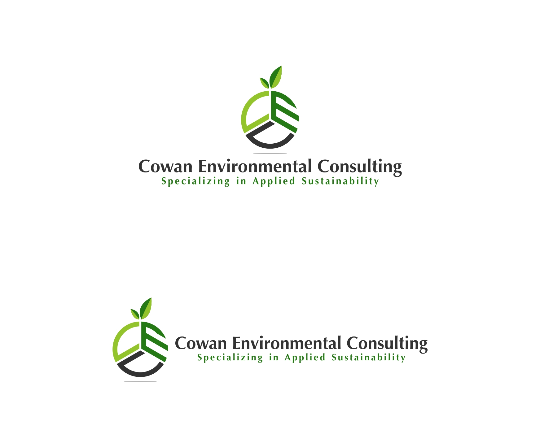 Logo Design by haidu - Entry No. 23 in the Logo Design Contest Fun Logo Design for Cowan Environmental Consulting.