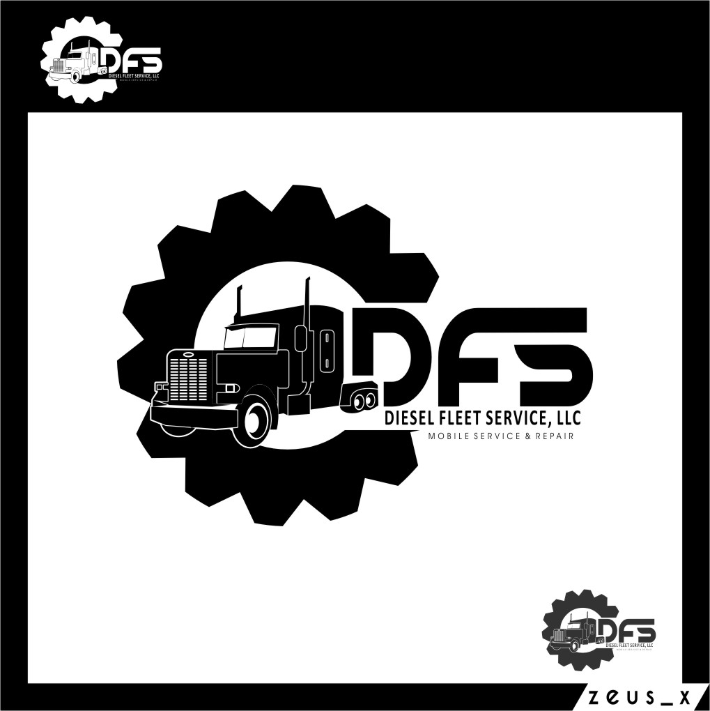 Logo Design by RoSyid Rono-Rene On Java - Entry No. 103 in the Logo Design Contest Artistic Logo Design for Diesel Fleet Service, LLC.