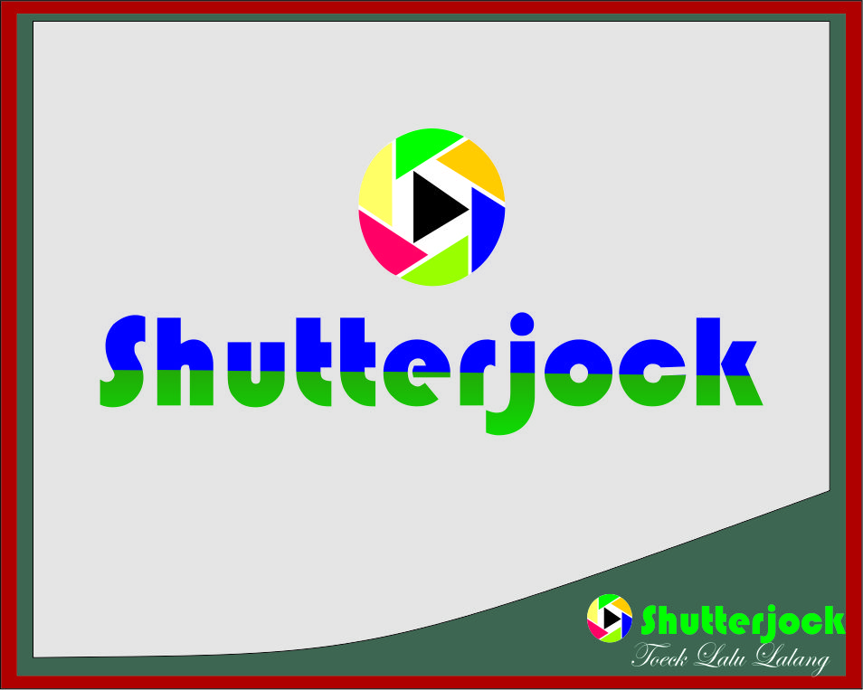 Logo Design by Agus Martoyo - Entry No. 79 in the Logo Design Contest Unique Logo Design Wanted for Shutterjock LLC.