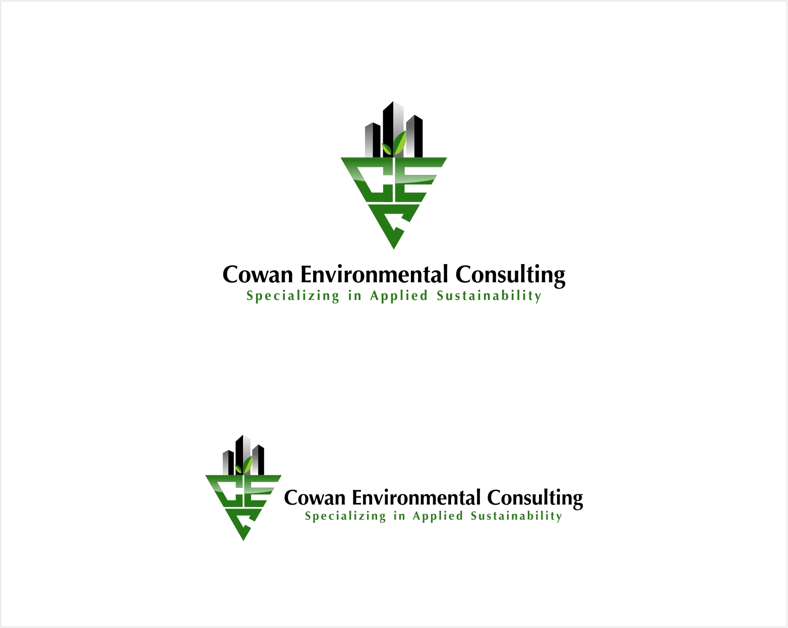 Logo Design by haidu - Entry No. 25 in the Logo Design Contest Fun Logo Design for Cowan Environmental Consulting.