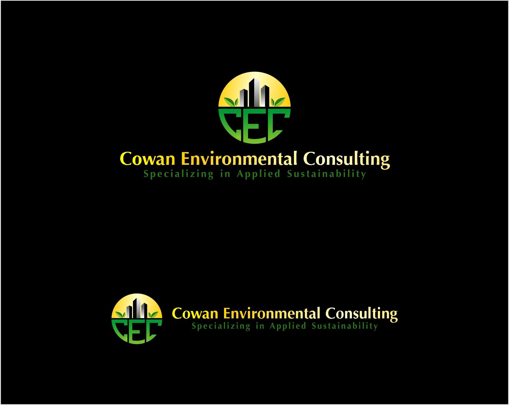 Logo Design by haidu - Entry No. 26 in the Logo Design Contest Fun Logo Design for Cowan Environmental Consulting.