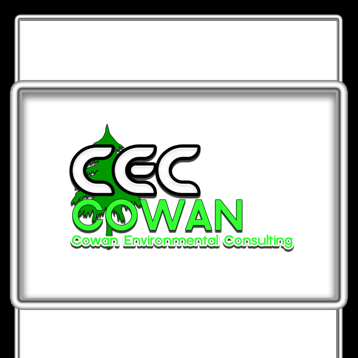 Logo Design by MITUCA ANDREI - Entry No. 27 in the Logo Design Contest Fun Logo Design for Cowan Environmental Consulting.
