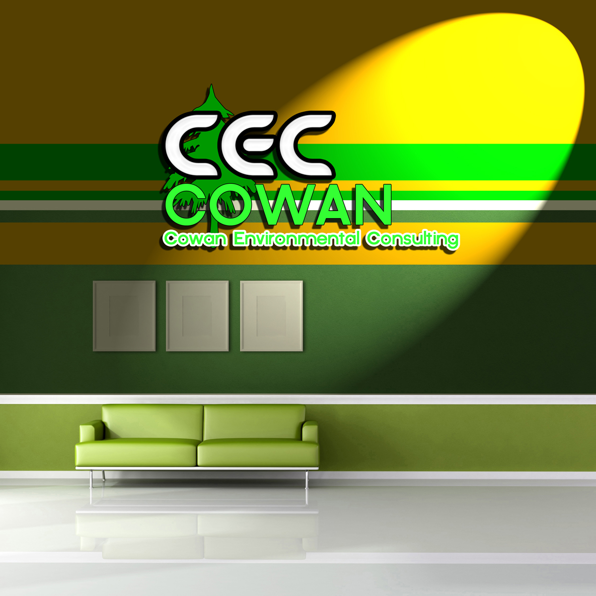 Logo Design by MITUCA ANDREI - Entry No. 32 in the Logo Design Contest Fun Logo Design for Cowan Environmental Consulting.