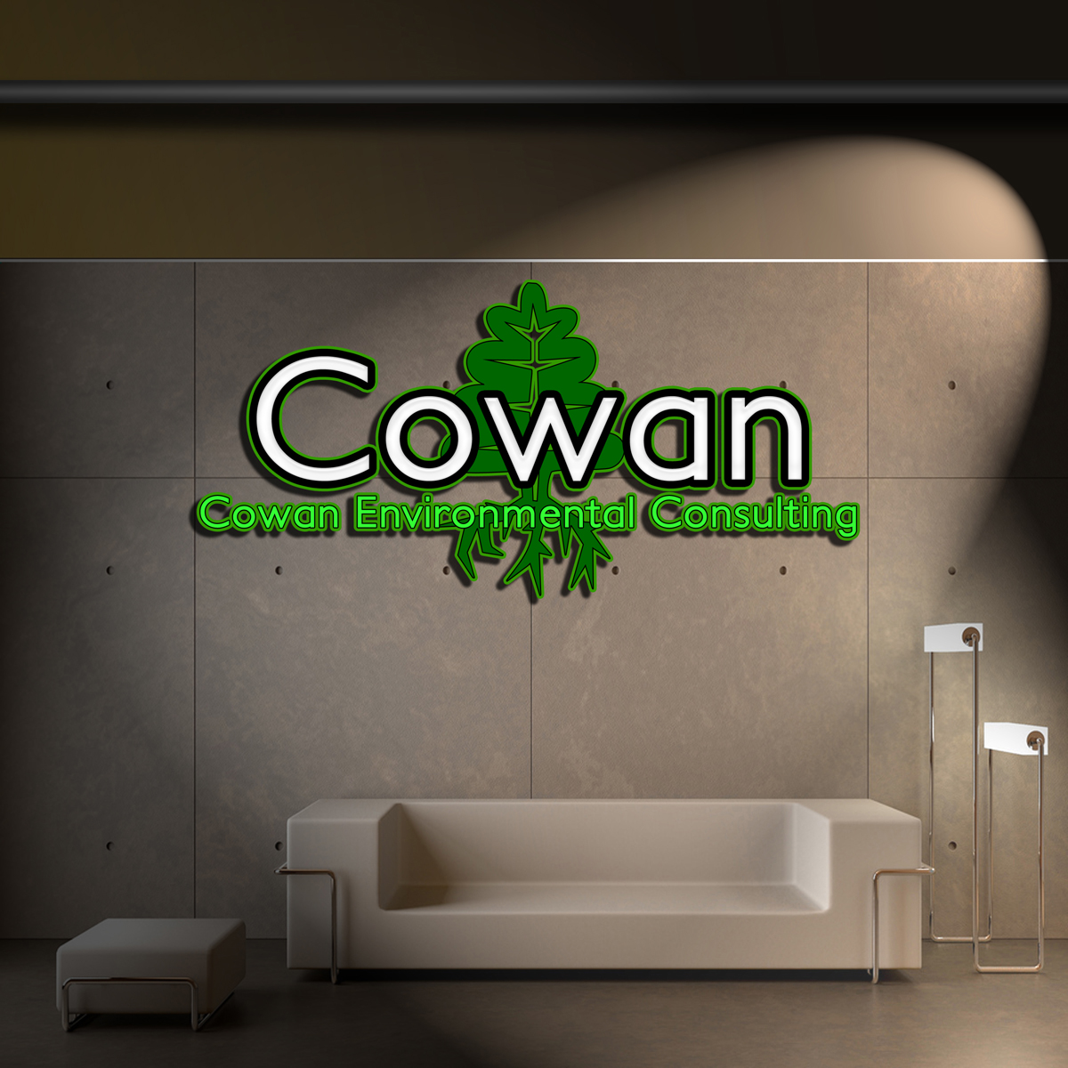 Logo Design by MITUCA ANDREI - Entry No. 35 in the Logo Design Contest Fun Logo Design for Cowan Environmental Consulting.